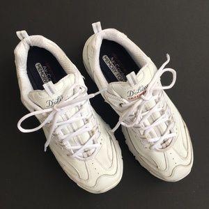 Skechers D'Lites Size 10 White